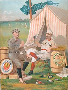 Repeal Day celebration: Baseball-themed beer ads