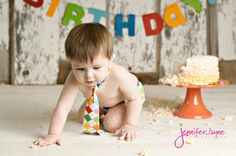 First Birthday Boys | Jennifer Jayne Photography