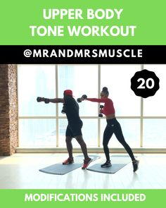 Tone and Sculpt your upper body in this FIERY and INTENSE Upper Body HIIT Workout. For thousands of exercises – check us out on. Fitness Workouts, Upper Body Hiit Workouts, Full Body Hiit Workout, Hiit Workout At Home, Gym Workout Videos, At Home Workouts, Workouts For Couples, Exercises For Upper Back, Upper Body Exercises