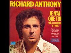 Je ne vois que toi - Richard Anthony - YouTube