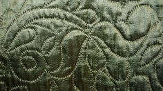 18th century quilted silk petticoat, American. The Met C.I.58.22. www.metmuseum.org