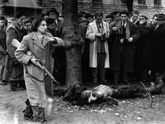 The body of a member of the Hungarian secret police lies in a Budapest street as western journalists witness the anti-communist uprising in Hungary. Even teenagers and women took arms against the. Get premium, high resolution news photos at Getty Images Last Battle, The Stooges, Life Magazine, Magazine Photos, Budapest Hungary, Great Stories, Pictures Images, Bing Images, Story Inspiration