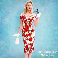 1545fef0 De 7 bedste billeder fra Pin up kjoler i 2015 | Vintage gowns ...