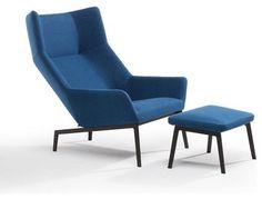 Bensen Park Lounge Chair and Ottoman