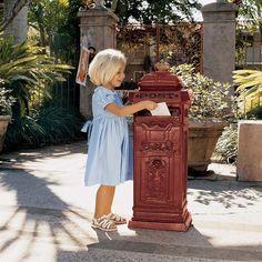 Park Avenue Collection British Style Post Box