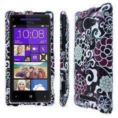 HTC Windows Phone 8X Purple Bloom Case  $9.95