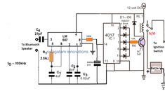Schematic Transistor Ignition Circuit Diagram.