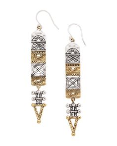Aztec Earrings | Jewelry by Silpada Designs