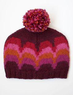 Yarnspirations.com - Patons Waves Hat - Patterns  | Yarnspirations