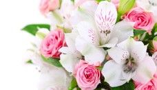A bouquet flowers pink roses white orchids Beautiful Flowers Images Hd, Flower Images, Flower Pictures, Beautiful Pictures, Blooming Flowers, White Orchids, White Flowers, Orchid Flowers, White Lilies
