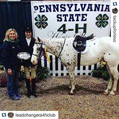 If you ride and live in or near Chester County PA make sure you FOLLOW @tackupforless ! You won't want to miss out! #Repost  with @repostapp.  Congratulations to all of the Chester County 4-H riders and their horses or ponies who qualified for the Pennsylvania State 4-H show! We hope you all enjoyed the show and thank you to all of the hard working leaders families and friends who made it possible for these talented young equestrians! If you went tag us in a picture and we will share it…