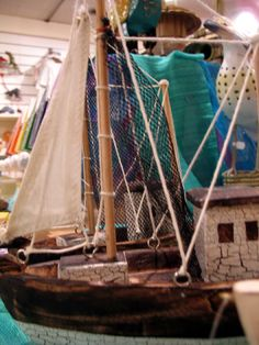 Bring a bit of the English Riveria into the mainland of Oxford - exquisitely hand crafted fairtrade toy boats, now sailing in store!