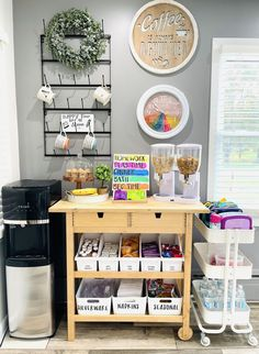 Home Organization Hacks, Organizing, New Room, Office Decor, Office Ideas, Classroom Decor, Home Projects, Room Inspiration, Home Kitchens