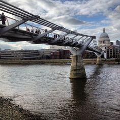 Millennium Bridge & St Paul's Cathedral...What a photo!