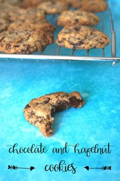Chocolate and Hazelnut Cookies | Mumzilla  Classic chocolate and hazelnut cookies. Easy cookie recipe for kids. Makes around thirty cookies <3