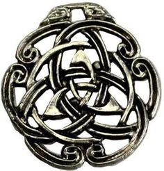 Triquetra And Celtic Knot