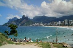 View from Arpoador, Rio de Janeiro, Brazil