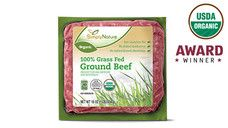 SimplyNature Organic 100% Grass Fed 85/15 Ground Beef