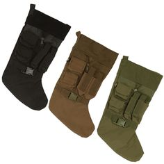Tactical Gear Christmas Stockings