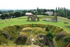 Sandal Castle, West Yorkshire, England