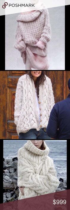 BUNDLE UP TODAY 10% DISCOUNT 2 OR MORE!! Posting a few of my favorite sweaters for your enjoyment. Sweaters