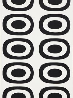 Buy Marimekko Pieni Melooni, Black / from our Wallpaper range at John Lewis & Partners. Marimekko Wallpaper, Diy Wallpaper, Marimekko Fabric, Textile Patterns, Print Patterns, Floral Patterns, Surface Pattern, Surface Design, Motif Vintage