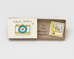 Koppel camerakaart / Matchbox je kijkt mooi samen