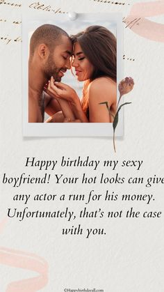 Your love is your life. Wish your boyfriend happy birthday with these wishes and messages. Birthday Greetings For Boyfriend, Birthday Wishes For Him, Happy Birthday Greetings, Happy Birthday Me, Message For Boyfriend, Boyfriend Texts, Happy Birthday Text Message, Happy Birthday Boyfriend Message, Text Message Quotes