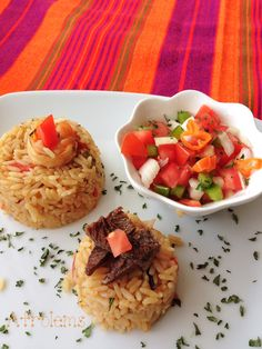 This Kenyan Pilau dish is very common amongst different cultures and they also have different names for this same dish. The most common ones are pilaf, West African Food, Nigerian Food, Caribbean Recipes, Rice Dishes, Unique Recipes, Kenyan Recipes, Ethnic Recipes, African Recipes, Food Presentation