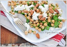 chickpea & goats cheese salad by jules:stonesoup