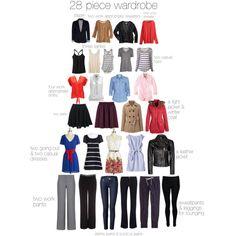 minimalism 28 piece wardrobe