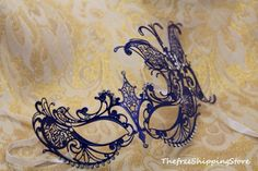 fun Masquerade Masks for Prom | ... Extravagant Venetian Butterfly Masquerade Carnival Costume Mask | eBay
