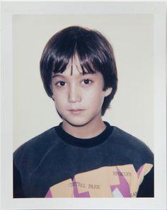 Sean Lennon (son of John & Yoko, musician) 1985 / 1st dibs #Warhol