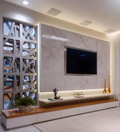 K in 2019 tv wall design, tv wall decor, tv decor. Tv Unit Interior Design, Tv Wall Design, House Design, Cottage Design, Room Interior, Tv Cabinet Design Modern, Tv Cabinet Wall Design, Tv Wall Cabinets, Hall Design