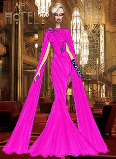 The Countess - AHS hotel - Look 1 - Armand Mehidri