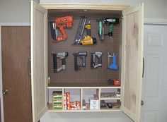 Nail gun storage & organization