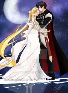 Princess Serenity and Prince Endymion from Sailor Moon Crystal