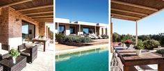 Today's properties for rent are The Lighthouse Gems. These are the combination of three delightful private properties, that can also be rented separately, located in the area of Cap De Barbaria within a vast plot surrounding by Mediterranean vegetation. Do you wish to find out more?? Visit.. http://www.formenteraluxuryvillas.com/o…/the-lighthouse-gems
