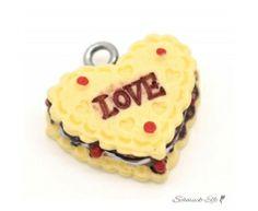 Charm Herz  LOVE Keks
