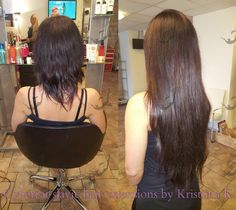 Russian Slavic hair extensions by Kristiina Kalev