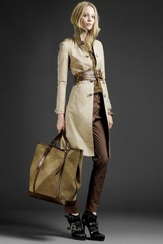 Burberry Prorsum Resort 2011 Collection Slideshow on Style.com