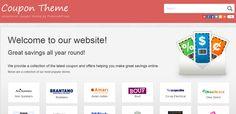 CouponPress WordPress Theme - Create Coupon Code Site