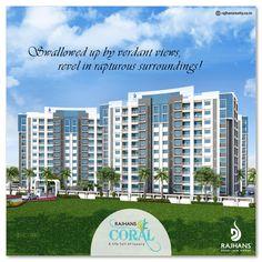 Swallowed up by verdant views, revel in rapturous surroundings!  #RajhansCoral #Surat