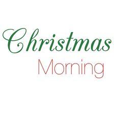 Christmas Morning, Christmas Home