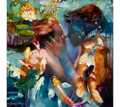 Memory's Whisper by Dimitra Milan, 16 year old artist.
