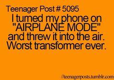 . teenager post