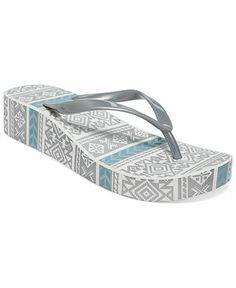 10472c3e68f Muk Luks Women s Platform Wedge Flip Flops - Espadrilles  amp  Wedges -  Shoes - Macy s