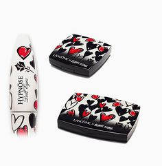 "Our first ""doll lashes"" effect mascara, for broader, longer and lifted eyes. Draped in its red heart dress, Doll opens the show with just the right dose of innocence. Heart Dress, Mascara, Lashes, Dolls, Eyes, Canvas, Accessories, Beautiful, Makeup"