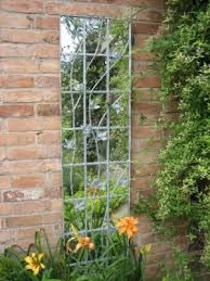 Special offers on Parallax Illusion Galvanised Metal Leaf Trellis Outdoor Mirror at Internet Gardener – Click or call for expert advice on all Garden Mirrors Metal Trellis, Garden Trellis, Garden Gates, Garden Art, Garden Design, Back Gardens, Small Gardens, Outdoor Gardens, Outdoor Mirror