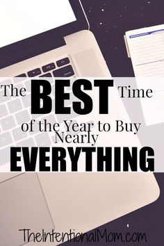"""Did you know that there is a """"right"""" time to buy things if you are looking to save money? Everything from the food we buy to the cars we drive follow a regular cycle each year. Before you make your next purchase, check this list of common items first."""